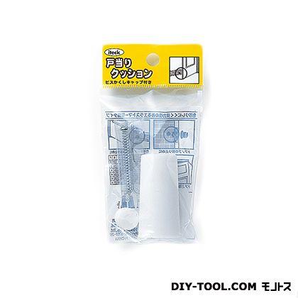 ゴムクッション戸当り 白 50×26 PGD-52-2 1 個