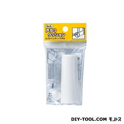 ゴムクッション戸当り 白 70×27 PGD-70-2 1 個