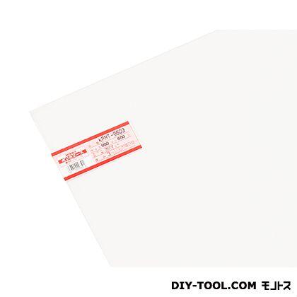 光 ポリカ透明マット  900×600×3mm KPMT-9603  0