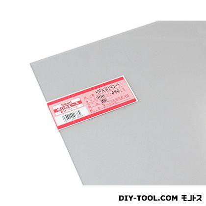 光 ポリカエース 透明 300×450×3mm KPA3030-1  0