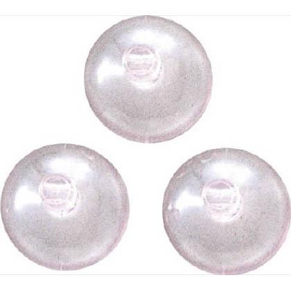 吸盤30丸横穴タイプ(3個入) 透明 30φ QC-012 3 個