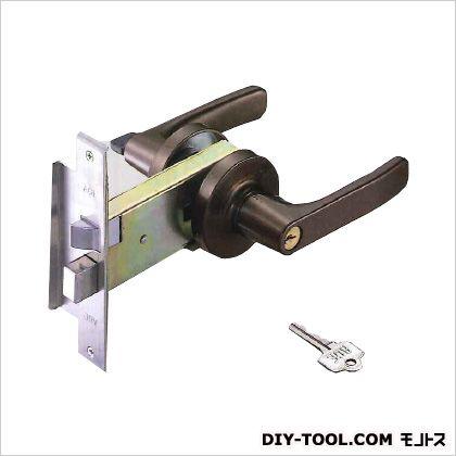 アルミ扉用レバー取替錠 ピンシリンダー 標準ケース ブロンズ  CL-123-B