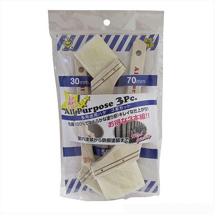 HC多用途用刷毛3本組化繊タイプ   1187300003
