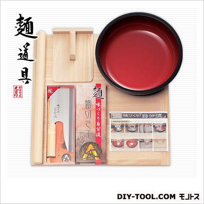 家庭用麺打ちセットB (蕎麦打ち道具セット) そば作り方説明書付き   A-1280