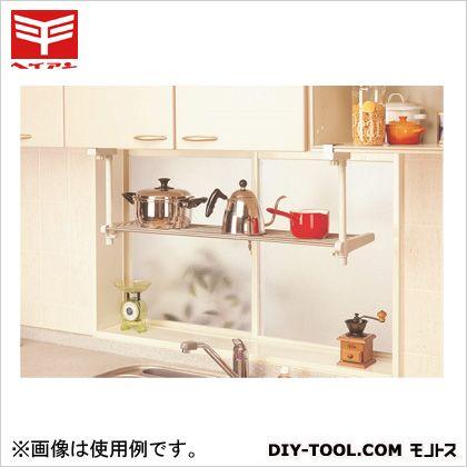 1段吊り下げキッチン棚 ステン・白 (TK-1)