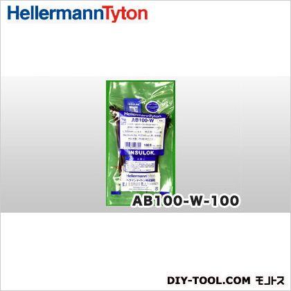 インシュロックタイ ABシリーズ 黒 (AB100-W) 100本