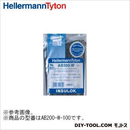 インシュロックタイ ABシリーズ 黒 (AB200-W) 100本