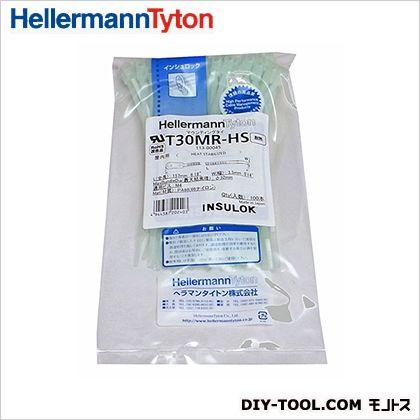 マウンティングタイ 耐熱グレード高温環境下用 薄緑 157mm (T30MR-HS) 100本