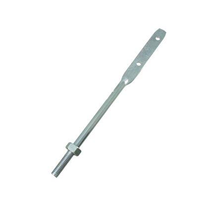 羽子板ボルト ナット付  1/2×300mm F080
