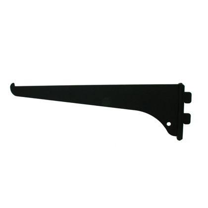 ファンシー棚受 黒 200mm FT-20B