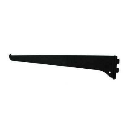 ファンシー棚受 黒 300mm FT-30B