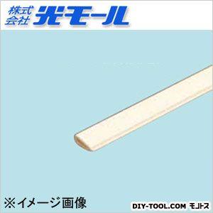 鉄板カブセ アイボリー 8.5×3.15×1×1000(mm) (811)