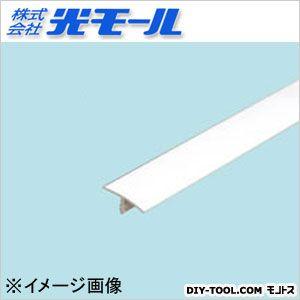足付T-15 ホワイト 15×6×2.3×1000(mm) (155)