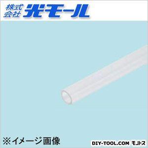 透明ABS丸パイプ クリア 6×1×1000(mm) (223)