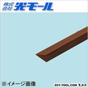 ダークABS三角棒 ブラウン 7×14×1000(mm) (269)