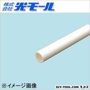 ホワイト丸パイプ ホワイト 15×2×1000(mm) 292