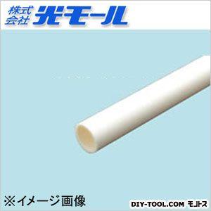 丸パイプ ホワイト 18×2×1000(mm) 293
