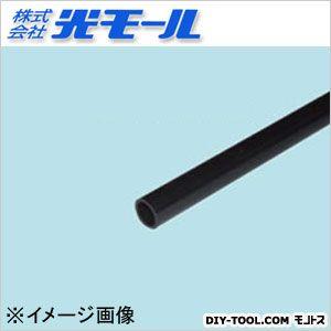 ブラック丸パイプ ブラック 12×2×1000(mm) 301