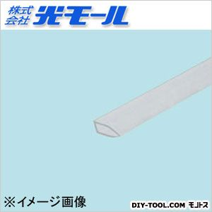透明PSバインダー クリア 15×5×1×1000(mm) 1608