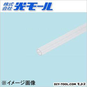 透明ABS丸パイプ クリア 4×1×1000(mm) (1614)