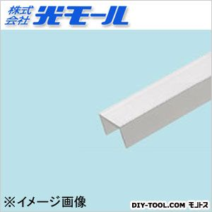 アルミチャンネルAC シルバー 18×13.5×1.5×1000(mm) (466)