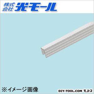 アルミ筋入チャンネルAS シルバー 9.3×10×1×1000(mm) 472
