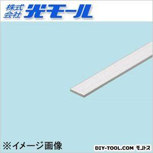 アルミ平板AP シルバー 10×2×1000(mm) (481)