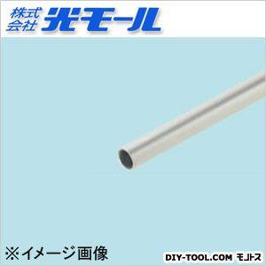 アルミ丸パイプ シルバー 6×0.5×1000(mm) (506)