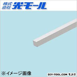 アルミ角棒 シルバー 6×6×1000(mm) 570