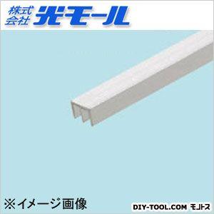 アルミE型レールAE-3上 シルバー 12×8×1×1000(mm) 588