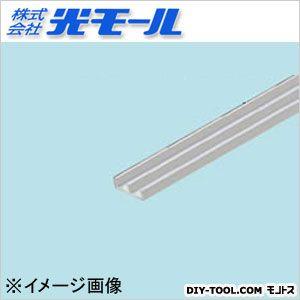 アルミE型レールAE-3下 シルバー 12×3.5×1×1000(mm) 589