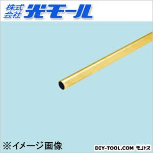 真鍮丸パイプ  3×0.5×1000(mm) 603