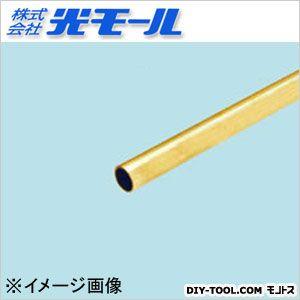 真鍮丸パイプ  6×0.5×1000(mm) 606