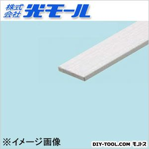 アルミ平板AP シルバー 40×3×1000(mm) (1246)