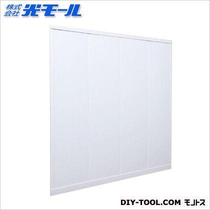 腰壁PURAPAN ホワイト 全長最大:高さ895X幅895X厚さ7(mm) 7229900