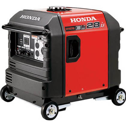 HONDA 防音型インバーター発電機 2.8kVA(交流/直流)セル付/車輪付 EU28IS1JNA3 1台   EU28IS1JNA3 1 台
