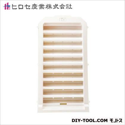 洋風ヤギリ1号・大型タイプ ホワイト 603×322×120mm (03319431)