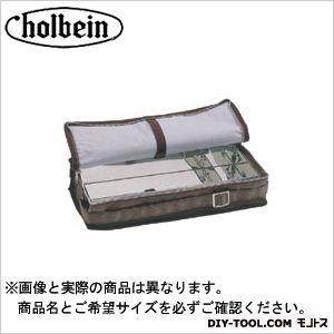 ホルベイン画材 ショルダーBOX レザ- 茶 (ブリキ付)  W373×D180×H85mm
