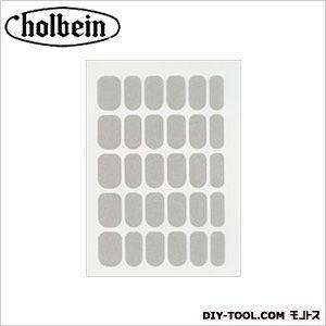 ホルベイン画材 チェルシー フィルムマニキュア FM-07 シルバー   1 枚