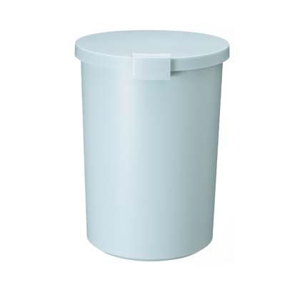 岩谷マテリアル kcud RusticColo ゴミ箱 ラウンドロック ブルーグリーン  243991
