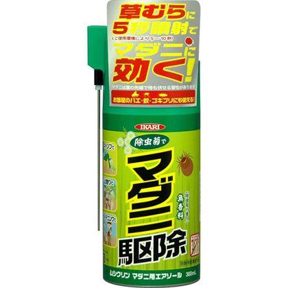 ムシクリンマダニ用エアゾール(天然除虫菊配合品)  300ml 205632