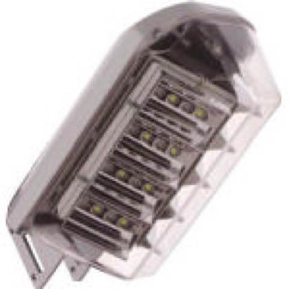 LED防犯灯 自動点滅器無 10VAタイプ 730lm 昼白色 (IRLDBH07) 1個