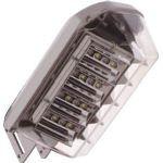 LED防犯灯 自動点滅器内臓 40VAタイプ 2500lm 昼白色 (IRLDBH25A) 1個