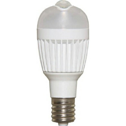 LED電球人感センサー付小形電球垂直取付タイプ電球色相当   LDA3L-H-E17SV