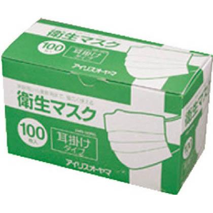 衛生マスク100P 耳掛けタイプ (EMN100PEL)