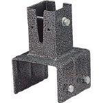 アイリスオーヤマ ラティスポスト固定金具 ブロック直接固定 120mm   LPK120B 1 個