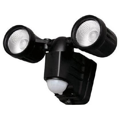 アイリスオーヤマ 乾電池式センサーライト 高輝度 200lm 2灯式 昼白色  LSL-B2TN-400