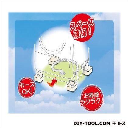 洗濯機用防振かさ上げ台 ふんばるマン ホワイト 高さ60mm OP-SG600