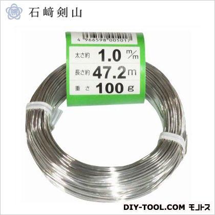 盆栽用アルミ線 白 1.0mm