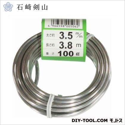 盆栽用アルミ線 白 3.5mm